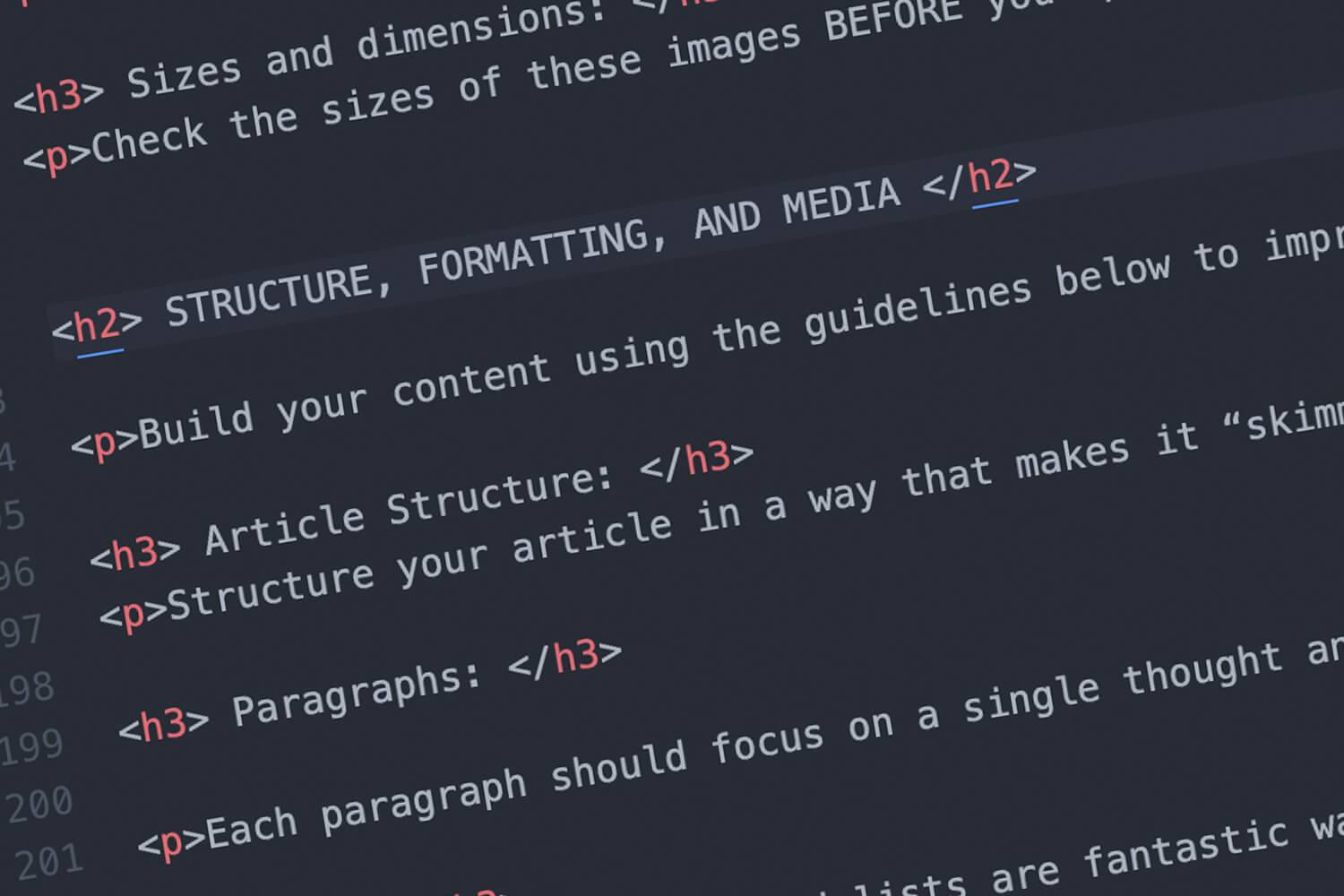291 Media coding screenshot
